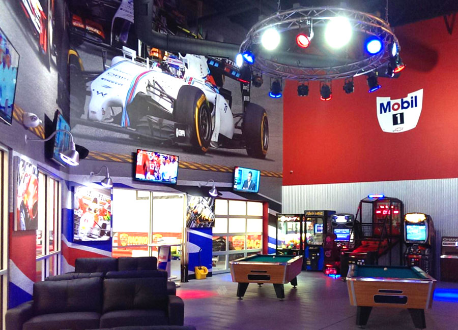K1 Speed Denver Game Area
