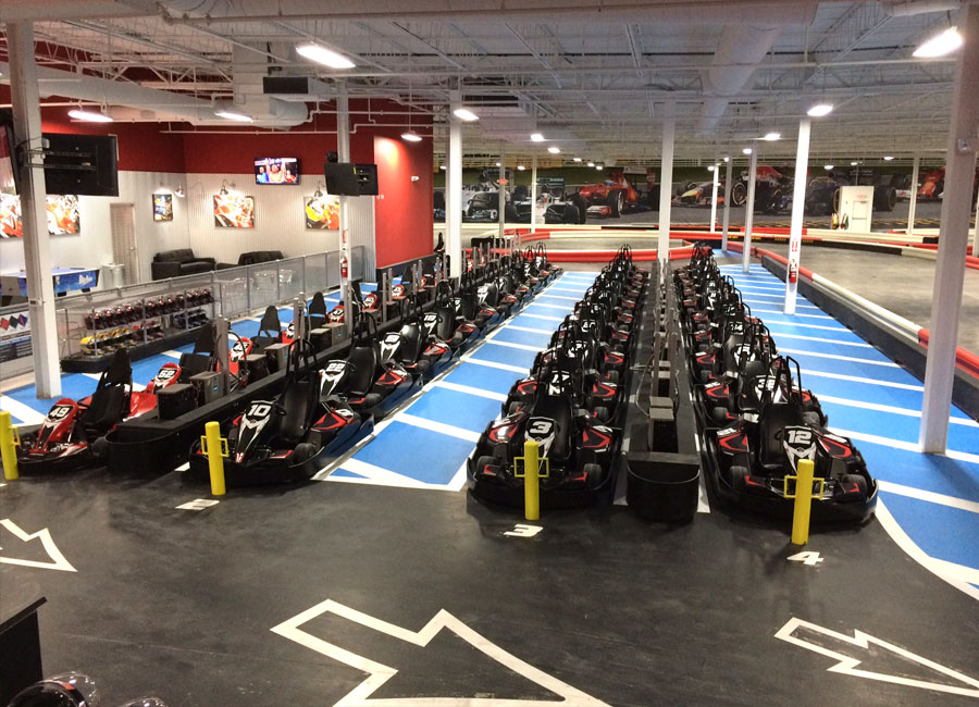 K1 Speed Kingston Pits