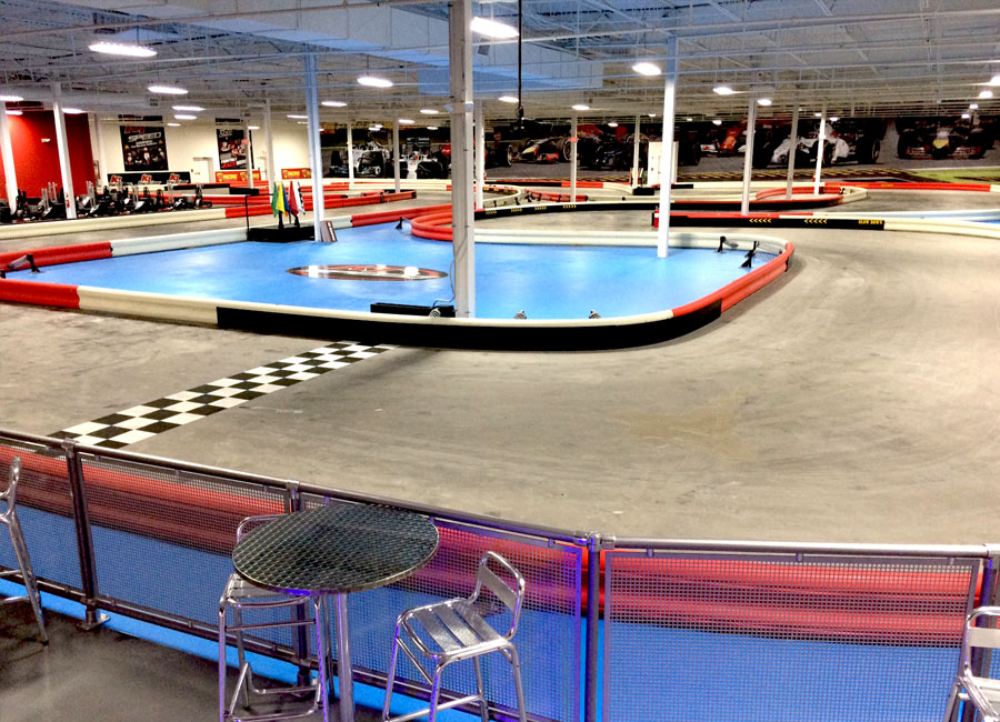K1 Speed Kingston Track 1