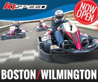 K1 Speed go kart racing now in Boston, MA